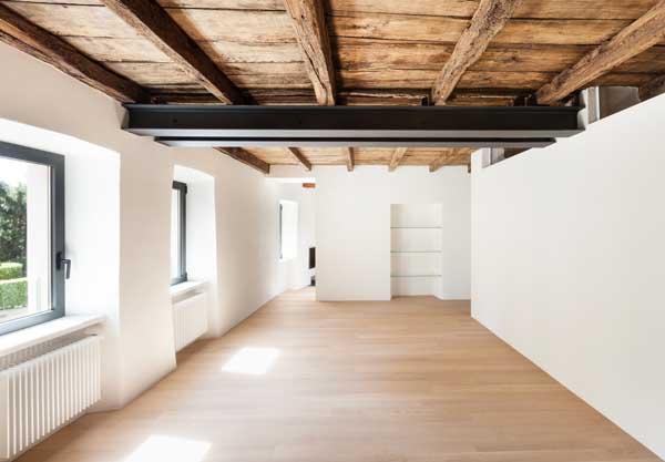 modern loft, room