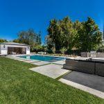 Backyard, Pool & Pool House Encino