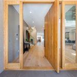 Entryway to Custom Home Build in LA