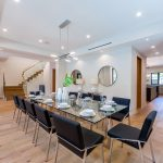 Dining Room of New House Construction Project in LA
