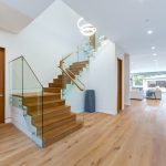 Staircase of New House Construction Project in LA