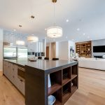 Kitchen of Custom House Construction Project in LA