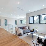 Lofted Room of Custom House Build in LA