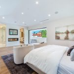 Bedroom of Custom House Build in LA mls