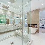 Master Bathroom of Custom House Build in LA