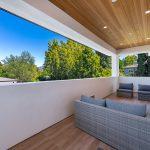 Balcony of Custom House Build in LA