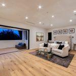 Master Bedroom of Custom House Build in LA