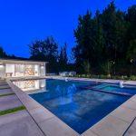 House & Pool of Custom House Build in LA